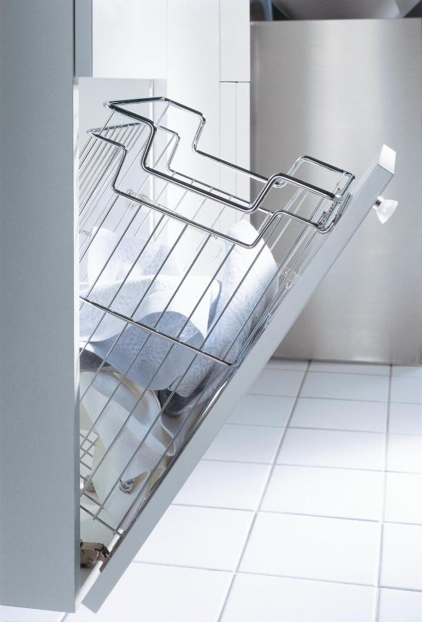 Badezimmerschrank Hochschrank Mit Wäschekorb: Nauhuri ...