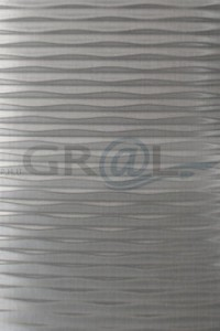 SL MOTION TWO Grey brushed matt AR - Mata dekoracyjna SIBU bez kleju